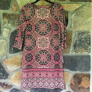 Paisley pink dress from stitch fix